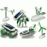 Jual Robot Solar 6 in 1  Edukasi Merakit Robot Mainan Murah
