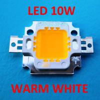 High Power LED 10W Kuning (Warm White) 9.5V - 12V