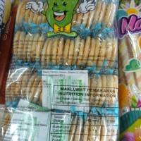 Biskuit Krakers Ten Ten Biskut Beras Vegetarian Snack 360gram = 40pcs