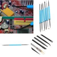 6Pcs Solder Welding Soldering Station Iron Tool Electronic Heat Assist