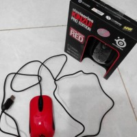 Mouse SteelSeries Kinzu V2 Pro Edition Red 3200 DPI - ORIGINAL BOX