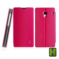 Imak Redmi 1s| Casing Kulit Original Flip Leather Cover Case HP Xiaomi