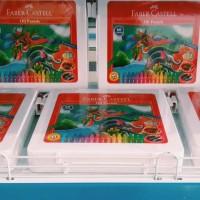 Crayon Faber Castell Oil Pastels Hexagonal 60 warna