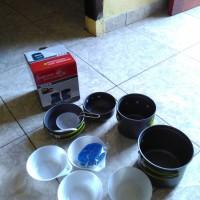 cooking set / nesting kapasitas 2-3 orang