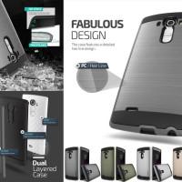 Verus Verge Case LG G4 Brushed Metal Armor Dual Layer