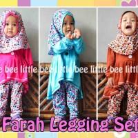 harga grosir baju bayi perempuan lucu 3 tahun - Farah Legging Set - blouse Tokopedia.com