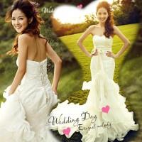 harga Wedding Dress - Gaun Pengantin Fish-ikan Duyung Korea 2015 Tokopedia.com