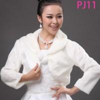harga Wedding Dress Bolero - Bolero Lengan Panjang - Bulu Tokopedia.com
