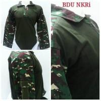harga baju bdu NKRi/baju combat/kaos loreng nkri/kaos army Tokopedia.com