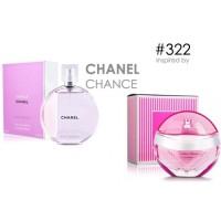 Parfum FM 322 Chanel - Chance Eau Tendre (Original Import Eropa)