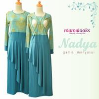 Maxi Dress / Gamis Menyusui Mamalooks NADYA