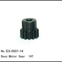 RC Pinion Gear 14T mod1 Shaft 5mm Baja (Caster / Nanda / Hobao / Kyosh