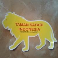 Stiker Taman Safari