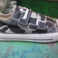 paling murah sepatu converse army velcro + box