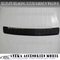 Sillplate Belakang/Back Sill Mobil Suzuki Karimun Wagon R