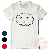 Simple Funny T-Shirt (Cloud)