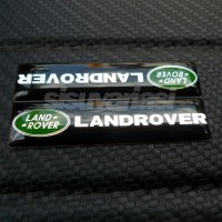 Emblem Land Rover Alumunium Gel