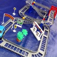 Mainan Anak mobil Mobilan beserta lintasan (track 88 pcs)