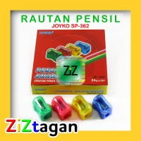 RAUTAN PENSIL JOYKO SP-362 Serutan Pencil Sharpener Ongotan Grosir