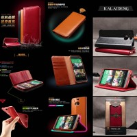 Kalaideng Royal Leather Flip Stand Wallet Soft Cover Case Htc One M8