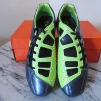 Sepatu bola nike T90 shoot III strike FG abu hijau Original