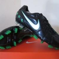 Sepatu bola nike T90 shoot III laser FG hitam hijau Original