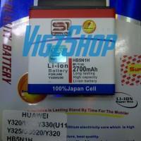 Baterai Battery HB5N1H Huawei Ascend Y320/U30/Y330/U11/Y325 2700mAh S1