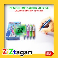 PENSIL MEKANIK JOYKO MP-42 0.5mm Mini Potlot Potlod Mechanical Pencil
