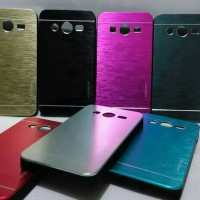 Hardcase Brushed Metal Hard Cover Case Samsung Galaxy Core 2 / Duos