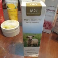 Pemutih Kulit M2J Whitening Body Cream 250ml