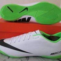 Sepatu futsal original for nike mercurial victory IV white