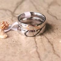 Cincin Couple / Cincin Tunangan / Cincin Kawin CR-015