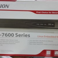 NVR Hikvision full HD 1080p 8 channel