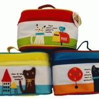Tas Dandan CAT, tas tempat alat alat dadan / make up motif kucing