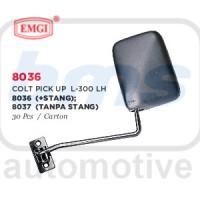 Spion Emgi Mitsubishi Colt Pick Up L300 Hitam Manual Stang Panjang LH