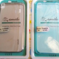 Softcase / Case Ultra Thin Air Smilee For Lenovo A7000