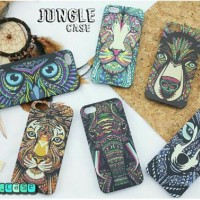 Jungle case hp/casing hp iphone samsung 4/4s 5/5s 6/6+