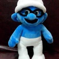 harga Boneka Smurf Kacamata  Biru Tinggi 40 Cm Lucu Unik Langka Jarang Tokopedia.com