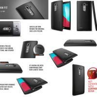 Spigen Thin Fit Case LG G4 Hardcase Polycarbonate Black - Original