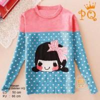 harga Baju Sweater Cardigan Cewek Wanita Cewe Ala Jepang Imut Lucu Unik Kece Tokopedia.com