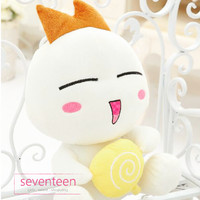 Onion Head Avatar Emoticon with Lollipop Doll