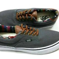 harga Sepatu Vans Era 59 Grey/whits Insole Tribal Ifc Tokopedia.com
