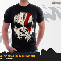 Kratos T-shirt (Kaos Game God of War - KG GOW 01)