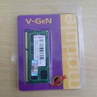V-GEN DDR3L SODIM 4GB PC 10600/PC 12800 Original