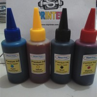 Tinta Refill / Isi Ulang - Botol Infus 100ML untuk HP, Canon, Epson