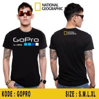 Kaos National Geographic Go Pro