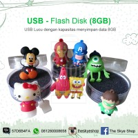 harga USB Lucu 8GB (Flashdisk Character Action Figure) Tokopedia.com