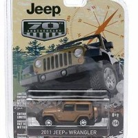 Greenlight 1:64 Jeep Wrangler 70th Aniversary Bron