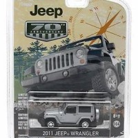 Greenlight 1:64 Jeep Wrangler 70th Aniversary Brig