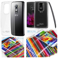 Imak Crystal Clear Back Cover Casing Case Bening Transpara LG G Flex 2